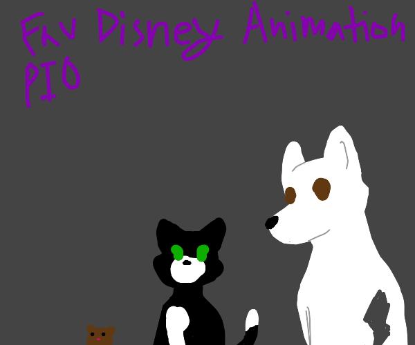 Fav Disney Animation PIO (Zootopia is mine)