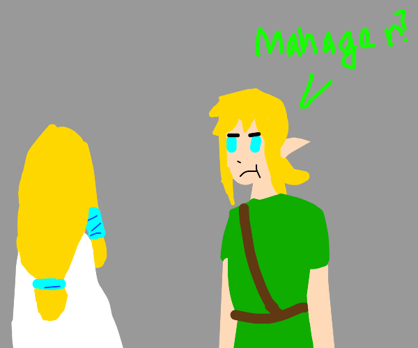 Link has become a Karen and wants the manager