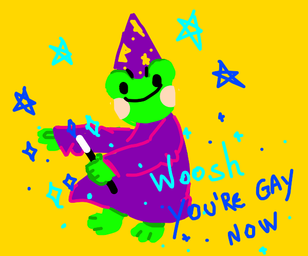 toad casts a spell on you