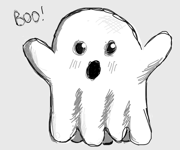Draw something spoopy.