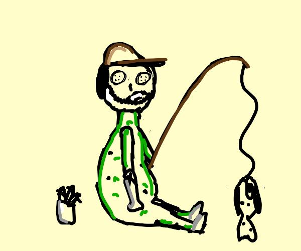 Cute Fisherman doll