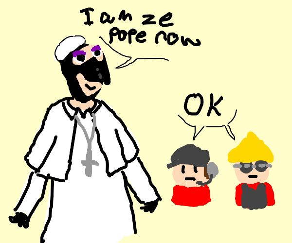 The Pope in TF2