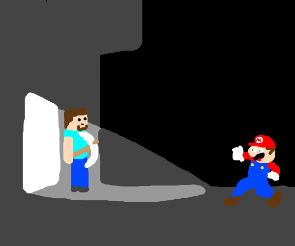 Mario or Steve? Who will win?