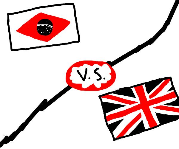 Brazil vs Great Britain