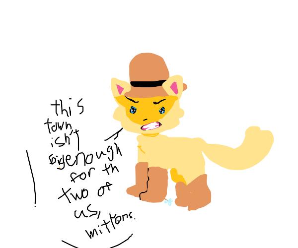 Cowboy Cat!