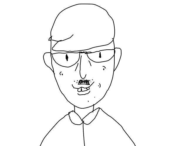 nerdy happy hitler