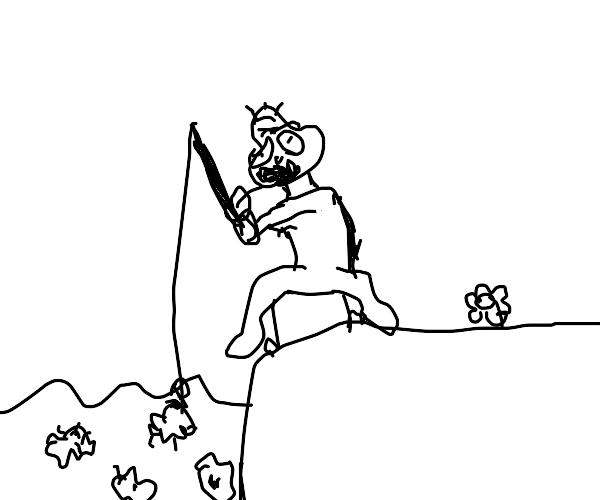 Fishing for dirt