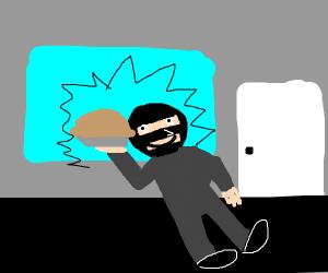stealing a pie