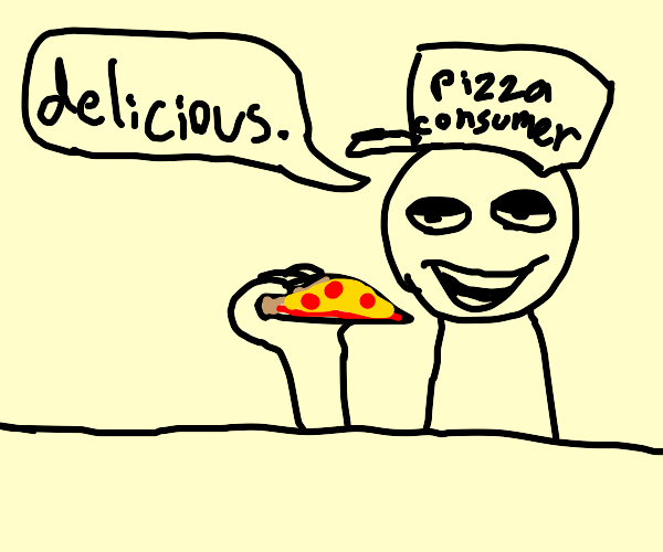 pizza is very really good