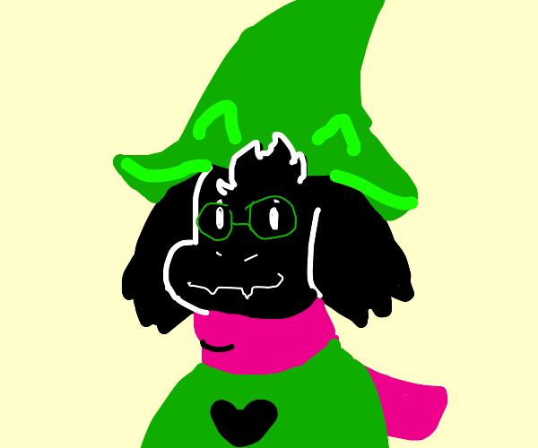 Ralsei, the fluffy boy