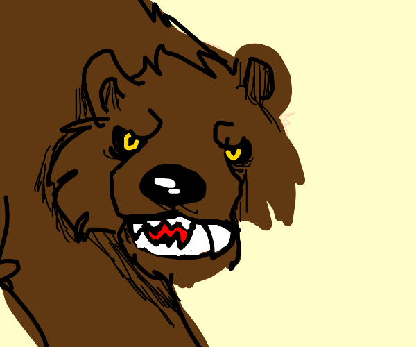A werebear