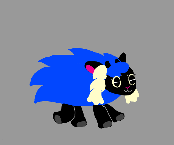 Wooloo as Sonic