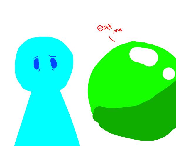 eat the pea