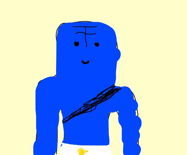 Eiffel 65's Blue Man with Chicken Underwear