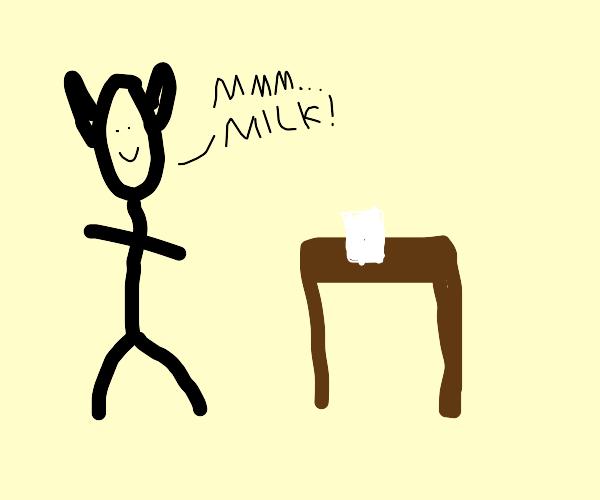 Milk Elf...Melk
