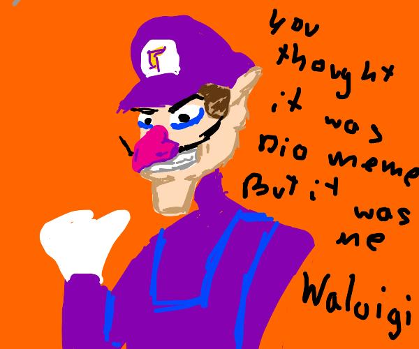 it WAS me, waluigi