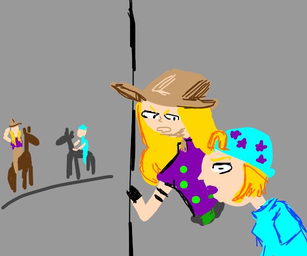 The Gyro Johnny fall off your horse fav meme