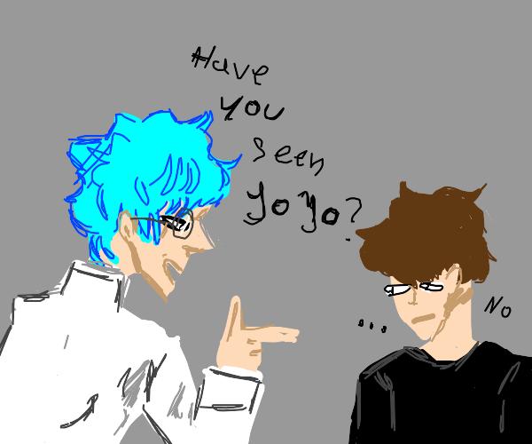 Intellectual asks normie if he has seen JoJo
