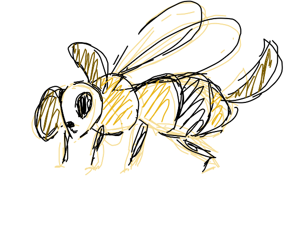 A bee-dog hybrid