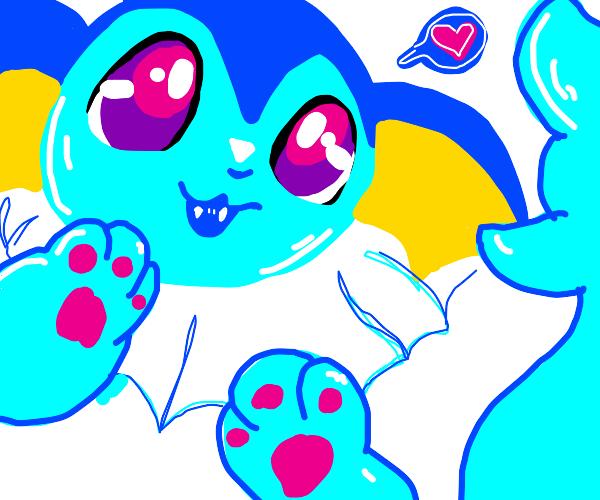 Cute Vaporeon likes you