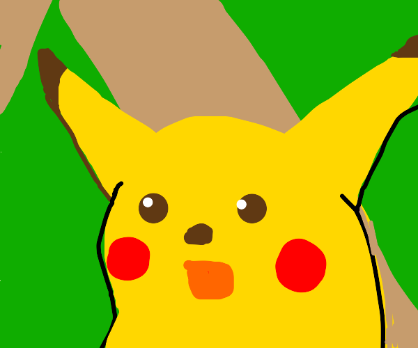 surprised pikachu meme