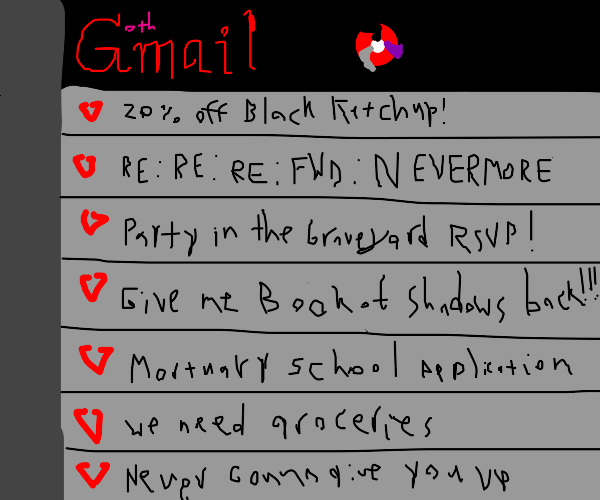 gothic email