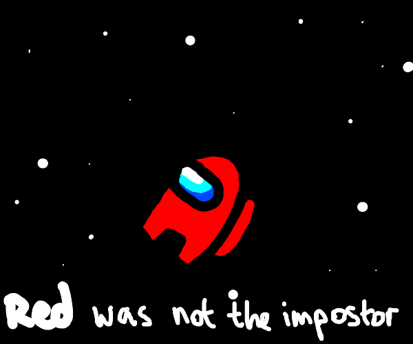 Red was not the imposter