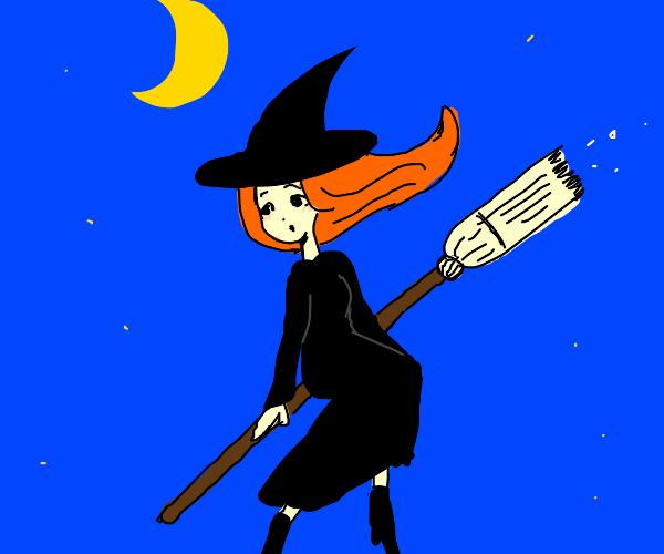 a cute witch