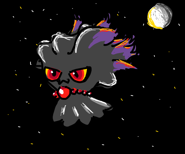 Misdreavus in the Moonlight