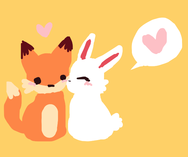 bunny loves fox
