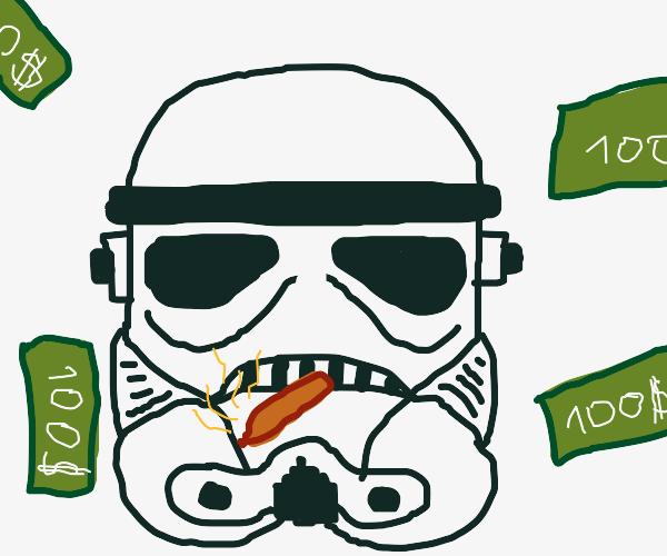 high rich stormtrooper
