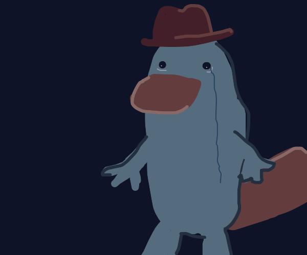 Perry the platapus has depression