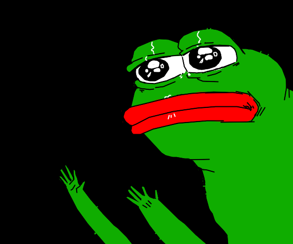 Pepe with tiny fingers