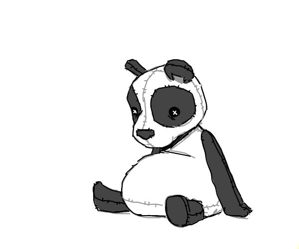 a panda plush doll