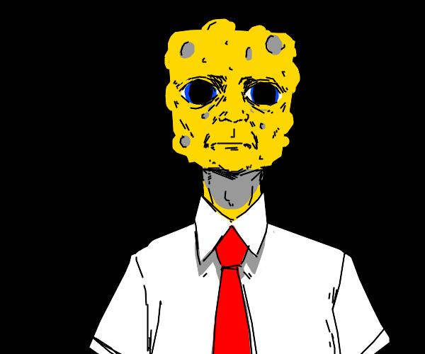 He is Sponge Robert