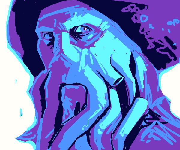 A purple Davy Jones