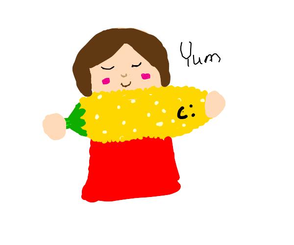Eat corn because it nice :))