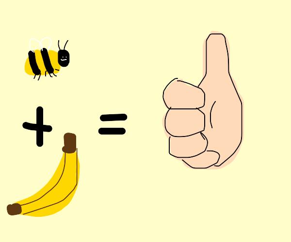 Bees + Bananas = Good?