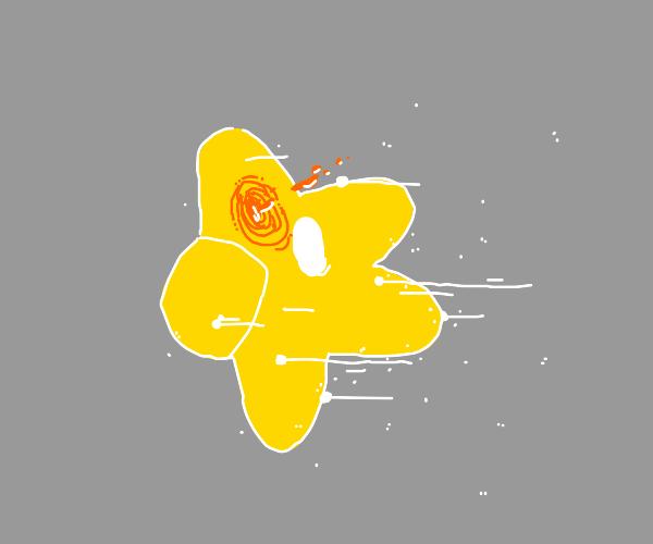 star shot in head