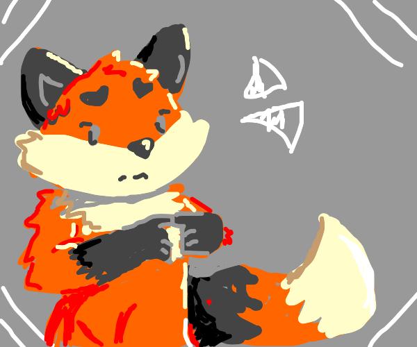 Fox Furry is Nervous