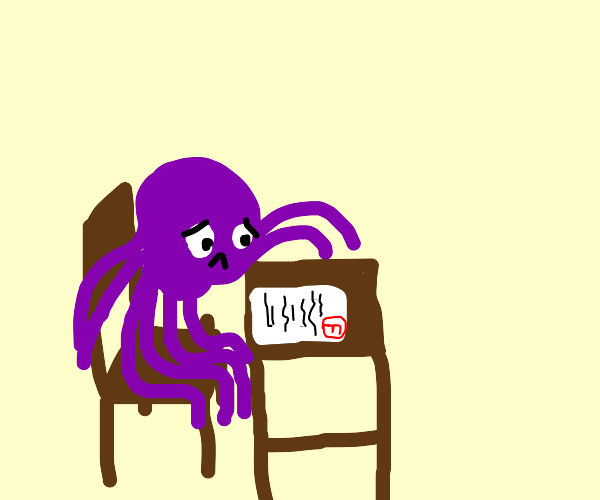 octopus fails test