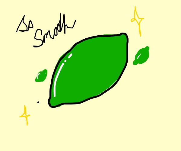smooth limes b)
