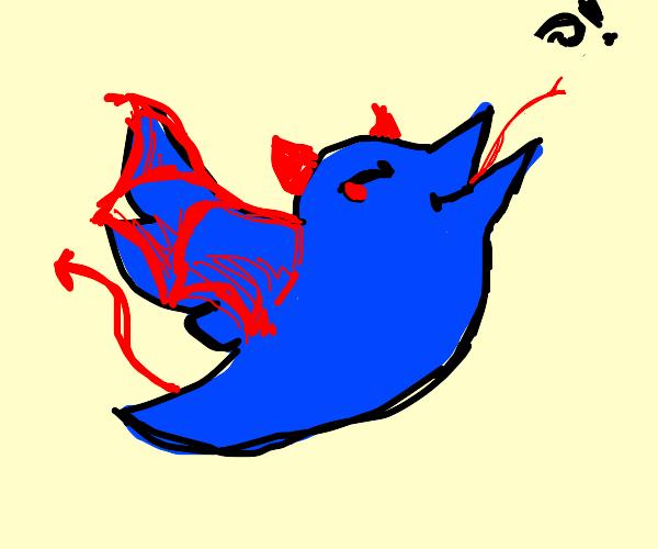 Twitter devil