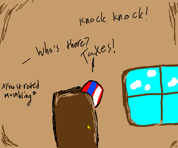 Uncle Sam's knock-knock joke.