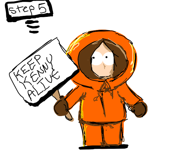 Step 3: Rescue Kenny Mccormick