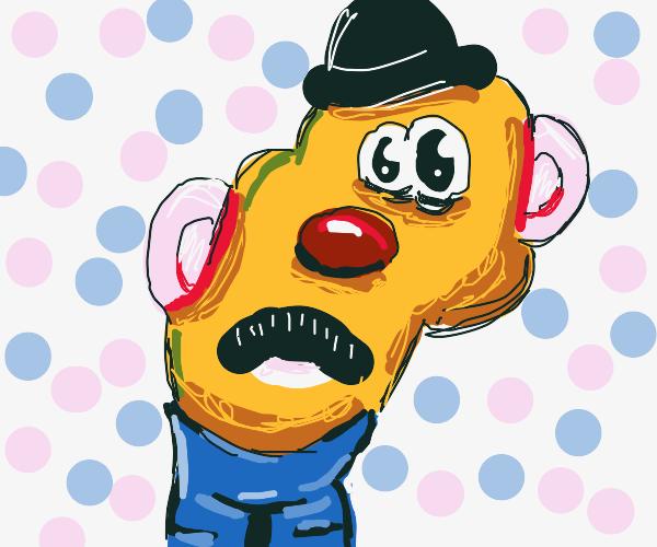 Lumpy potato man