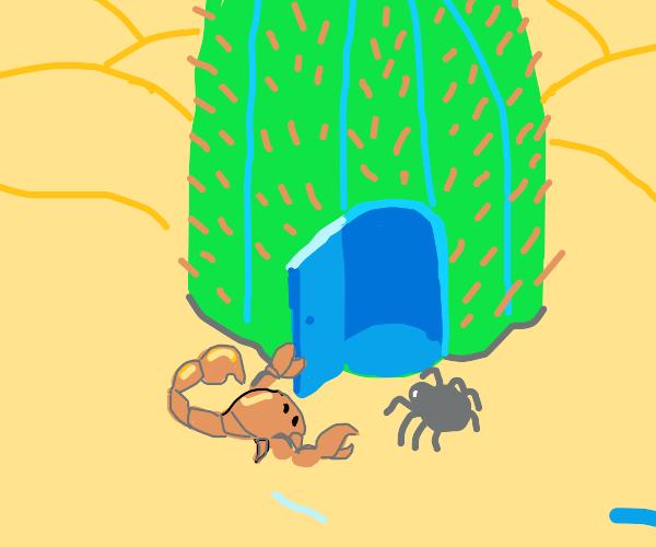 Gentlemanly scorpion