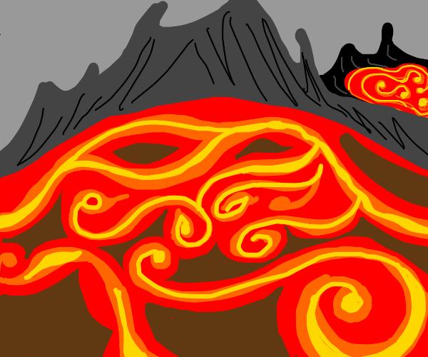 2 Volcanos chillin
