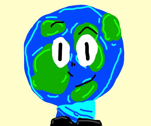 A humanoid Earth