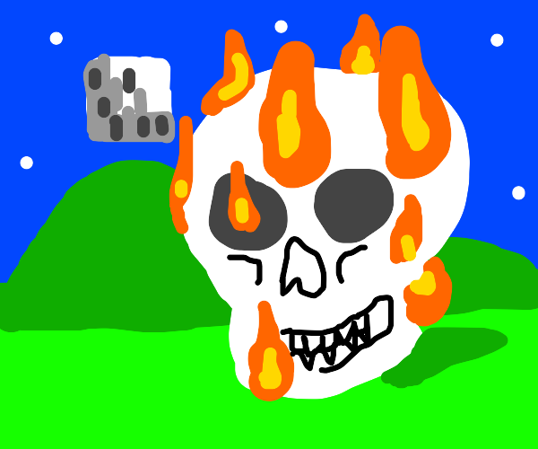 Painting in Minecraft
